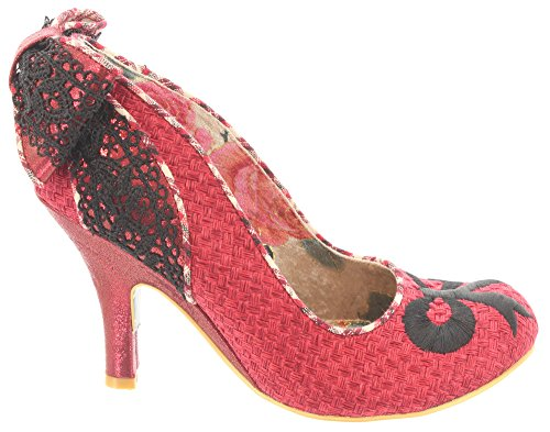 Irregular Choice Pumps BOW ZONE 3614-52 Red