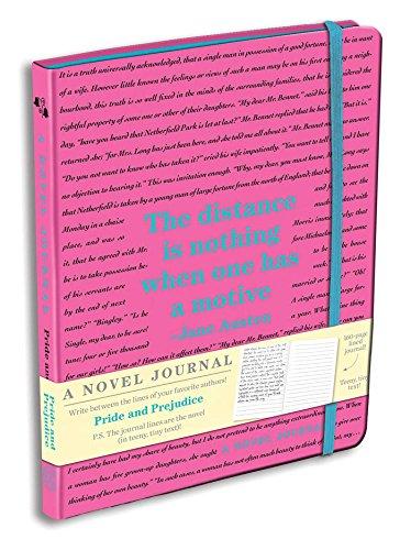 Pride and Prejudice: A Novel Journal