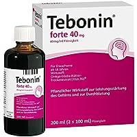TEBONIN forte 40 mg Lösung 200 ml Flüssigkeit preisvergleich bei billige-tabletten.eu