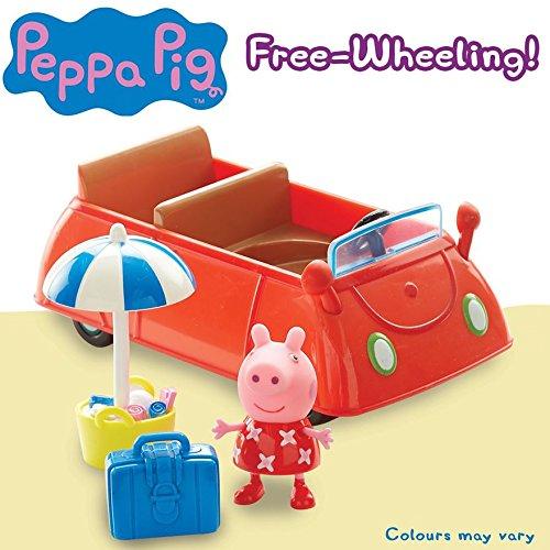 Peppa Pig Ferienzeit Sonnenschein Auto -