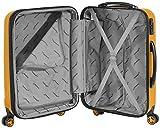 Packenger Velvet Koffer, Trolley, Hartschale  3er-Set in Orange, Größe M, L und XL - 9