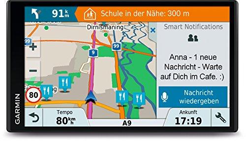 Gamin DriveSmart 61LMT-S Navigationsgerät ( 17,7 cm (6,95 Zoll) Touch-Display, 40 Länder Europas, lebenslang Kartenupdates, TMC)