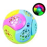 Newin Star Balles pour Bébés, Boule de Lumière LED de Plastique Bouncing Fusion Jumper, juquete éducatif Jeu Enfant pour Enfants et babyphone