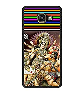 Printvisa Ultra Maa Durga 2D Hard Polycarbonate Designer Back Case Cover for Samsung Galaxy A...