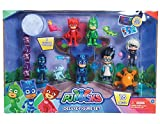 Grand coffret 16 pièces LES PYJAMASQUES figurines pjmasks