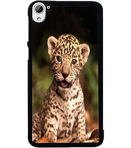 ColourCraft Cute Cub Design Back Case Cover for HTC DESIRE 826