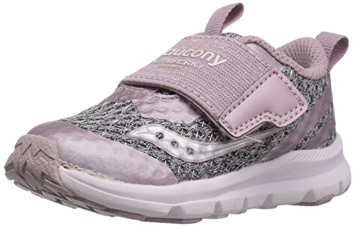 Saucony Girls' Baby Liteform Sneaker, Blush, 5 Extra Wide US Toddler