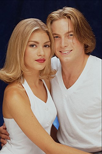 622094 Young Blonde Couple A4 Photo Poster Print 10x8