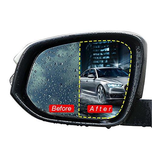 BonTime Anti-Brouillard Transparent Voiture r/étroviseur Miroir fen/être Protecteur Accessoires de Film Miroir /étanche
