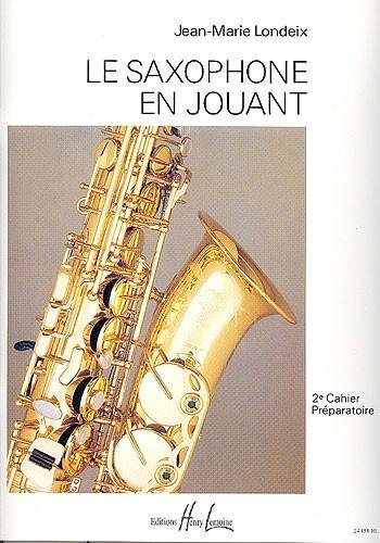 Saxophone en jouant Volume 2