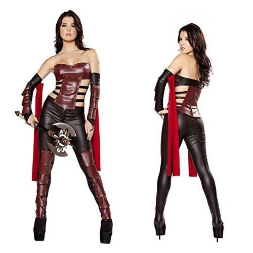 TYERY Die Griechische Mythologie Weibliche Krieger Kleidung,Fig.,Einheitsgröße