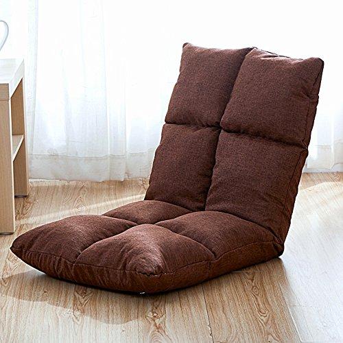 Helle Designs Einstellbare Boden Sofa Klappsofa Freizeit Schlafsofa Faule Sofa Couch (Multicolor)...