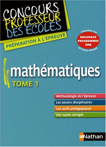 Mathématiques, tome 1
