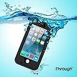 iPhone 5S Wasserdichtes Geh�use, iThrough(TM) iPhone 5 Wasserdichtes H�lle, Staubdicht, Schnee Verteidigung, sto�fest H�lle, Hochleistung Sch�tzende tragende Abdeckung H�lle f�r iPhone 5S, iPhone 5