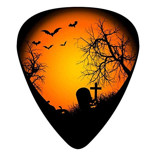 Halloween Night Celluloid Electric Guitar Picks 12-pack