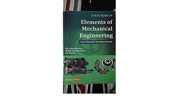 Elements Of Mechanical Engineering Book Pdf