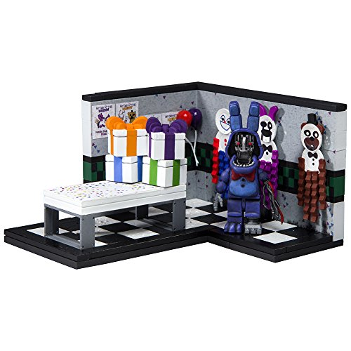 McFarlane 12822-2 Five Nights at Freddy's Party Small Construction Set, Paper Pals