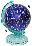 Unbekannt Sparschwein als Globus / Weltkugel - Sternzeichen & Sterbilder - drehbar - stabile Sparbüchse - Sterne Welt / Erde - Spardose für die Reisekasse Reisen Geld