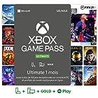 Abonnement Xbox Game Pass Ultimate   1 Mois   Xbox/Win 10 PC - Code jeu à télécharger