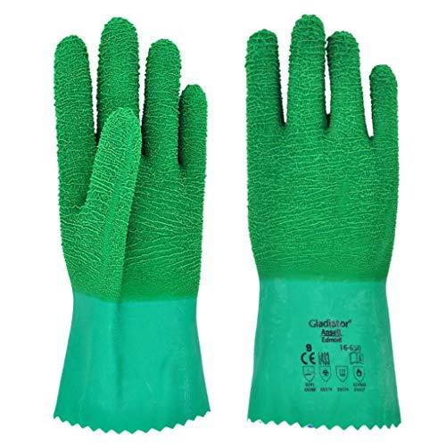HYBKY 250-Grad-Hochtemperatur-Handschuhe Küche Isolierte Handschuhe, Anti-Öl-Splash Anti-Verbrühungs Wasserdicht Anti-Rutsch-Anti-Dampf Handschuhe (Size : L)
