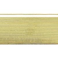 """Wachsstreifen / Verzierwachs """"Gold (glanz)"""" (30 Stück / 20 cm x 1 mm) TOP QUALITÄT"""