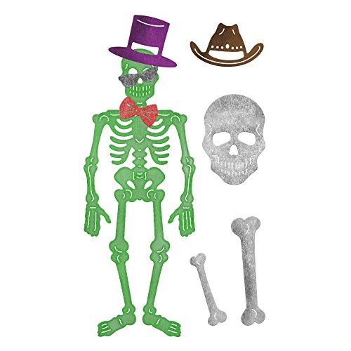 (Cheery Lynn Designs B8368Stück Skelett sterben Set)