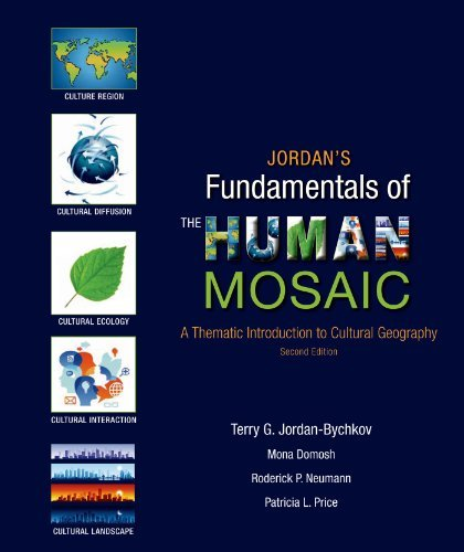 Jordan's Fundamentals of the Human Mosaic: A Thematic Introduction to Cultural Geography by Terry G. Jordan-Bychkov (2013-11-21)