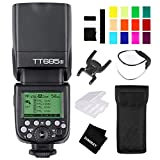 Godox TT685S TTL Camera Flash GN60 1/8000S HSS External Flash Speedlight with 2.4G