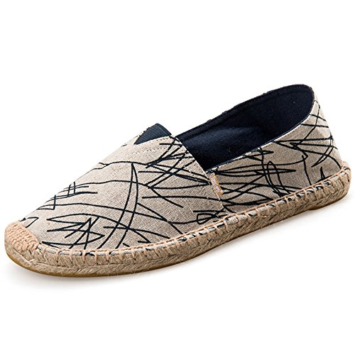 Alexis Leroy Graffiti Men Espadrilles Blue 10 UK / 44 EU