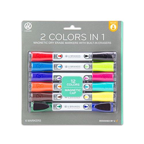 u-marcas-juego-de-magntico-de-borrado-en-seco-marcadores-multicolor