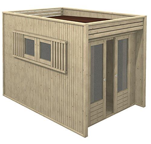 Casetta in legno da giardino 2x2.5 LA PRATOLINA di alta qualità ...