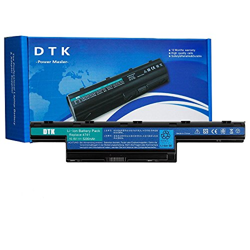 DTK® Notebook Laptop Batterie Li-ion Akku für Acer AS10D31 AS10D3E AS10D61 AS10D75 Aspire 4253 4551 4552 4738 4741 4750 4771 5560 7750G TravelMate 4740 4740G 5735 5735Z 5740 5740G Gateway NV55C