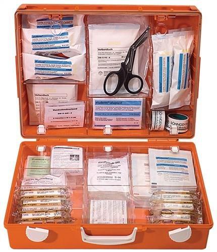 Preisvergleich Produktbild Söhngen 3001155 Erste-Hilfe-Koffer MT-CD, DIN 13169, B 40 x H 30 x T 15 cm, orange