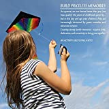aGreatLife Huge Rainbow Kite and Ice Cream Kite: Double the Fun and Adventure with Two of the Best Selling Easy Flyer Kites in One Amazing Bundle - Perfect Gifts for Kids and Adults