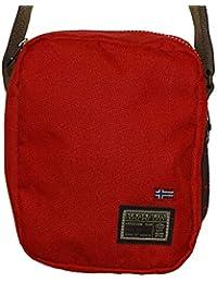 NAPAPIJRI Borsa Borsello Tracolla Shoulder bag Nordland Uomo Donna Women  Men Rosso Red N5Z17 b30bb40e446