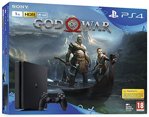 PlayStation 4 1TB + God of War - [Bundle]