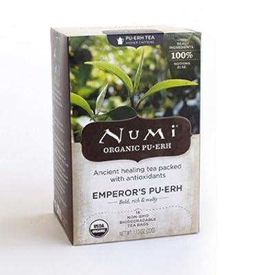 Thé Bio Numi Pu-erh - Empereur - 16 sachets