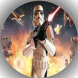 Fondant Tortenaufleger Tortenbild Geburtstag Star Wars T15