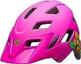 Bell Kinder Sidetrack Fahrradhelm, Matte Pink/Lime, One Size