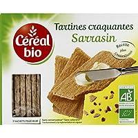 Céréal Bio - Tartines Craquantes au sarrasin, certifié AB - Le paquet de 145g - Pirx Unitaire - Livraison Gratuit...