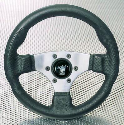Raid Lenkrad Sportlenkrad, HP Sport schwarz silber,320mm, 044325