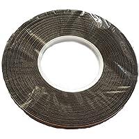 SBS nastro di compressione 10/2ANTRACITE 12,5m, Joint Nastro–Tappo–Nastro in Schiuma Sigillatura Nastro, Nastro di tenuta