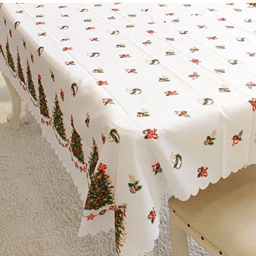 aub Design Tischdecke, Küche mit passenden Tischdecke hochwertige Stoff (Lila Polka Dot Tischdecke)