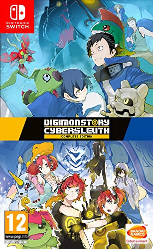 Digimon Story: Cyber SLEUTH Complete Edition - Complete - Nintendo Switch