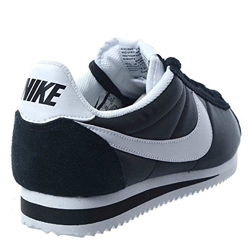 Adulto blanco Tênis Blanco Unisex Nike Wmns Clássico preto Branco Cortez Nylon qYn5nRH8T