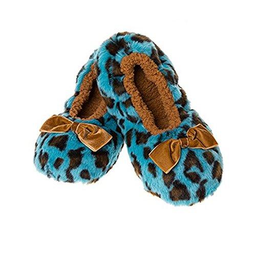 c8fbcf4ac0f Snoozies Fluffy Plush Animal Print Ladies ~ Leopard
