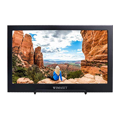 Fr-box (WIMAXIT Tragbarer Monitor, 11,6 Zoll 1920X1080 16: 9-Display, USB-betriebener HDMI-Monitor Ultraflacher Dual-Lautsprecher-Bildschirm f¡§?r PS3 / PS4 / X Box/Raspberry PI/Switch/PC)