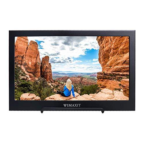 WIMAXIT Tragbarer Monitor, 11,6 Zoll 1920X1080 16: 9-Display, USB-betriebener HDMI-Monitor Ultraflacher Dual-Lautsprecher-Bildschirm f¡§?r PS3 / PS4 / X Box/Raspberry PI/Switch/PC (Powered Stand-usb Monitor)