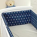 Nestchen mit Kopfschutz für 140x70 Bett 420x30cm M20