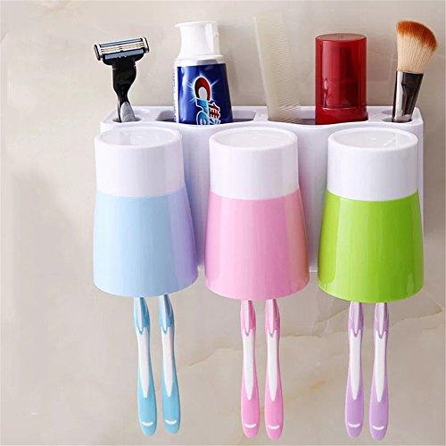 MIWANG Liebhaber der Kostüme_Creative Waschen Gurgeln Cup Zahnbürstenhalter Liebhaber Kostüme drei Familie von vier im Namen einer, Familie von drei